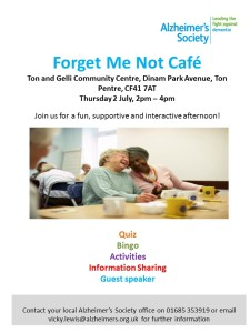 Forget Me Not Café - Rhondda
