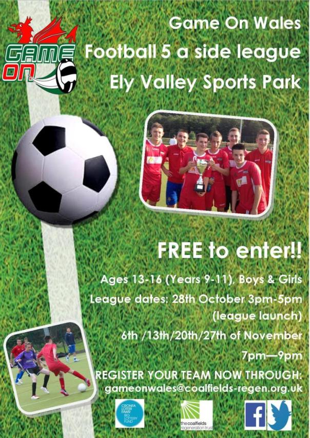 tonyrefail ely valley league poster