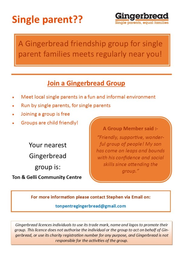 Ton Pentre Gingerbread Group Poster